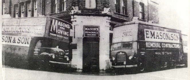 History of Masons Removals Cardiff