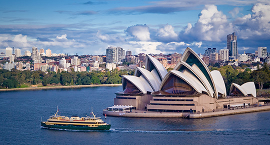 Move to Australia with Masons Removals Cardiff