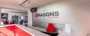 Masons Self Storage offer flexible storage near Cardiff