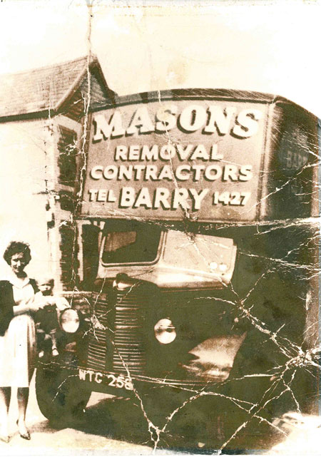 Masons have been doing Cardiff Removals for over 110 years