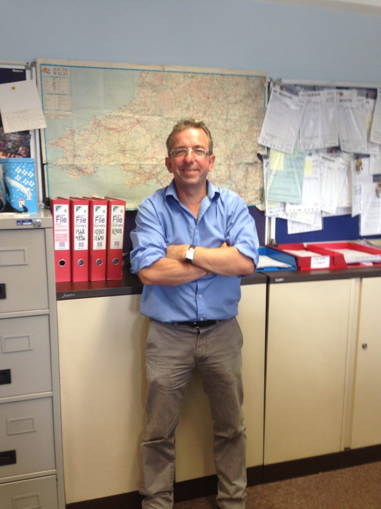 Brett, one of our Directors at Masons Removals Cardiff